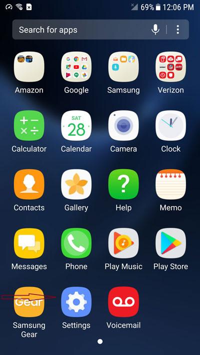 gỡ mật khẩu khóa màn hình Samsung