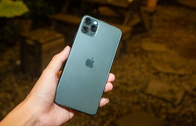 Sử dụng phím vật lý chụp màn hình iPhone 11 Pro Max