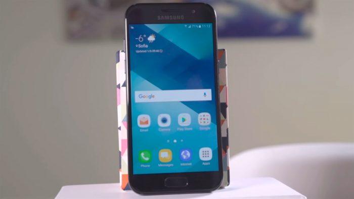 Samsung A5 2107 vỡ mặt kính