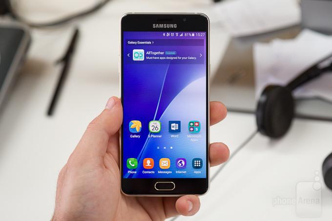 Samsung A7 2016 hỏng mặt kính