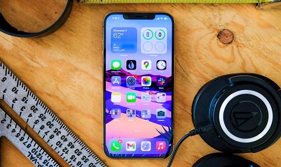 Điện thoại iPhone 12 Pro Max tự bật wifi