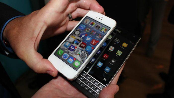 hướng dẫn chuyển danh bạ từ iPhone sang Blackberry