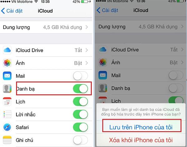 Copy danh bạ từ iPhone sang sim không Jailbreak