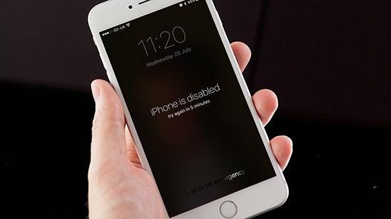 Sửa quên mật khẩu iPhone 7