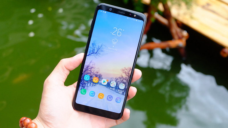 Chia sẻ cách khắc phục Samsung A6 plus bị đen màn hình