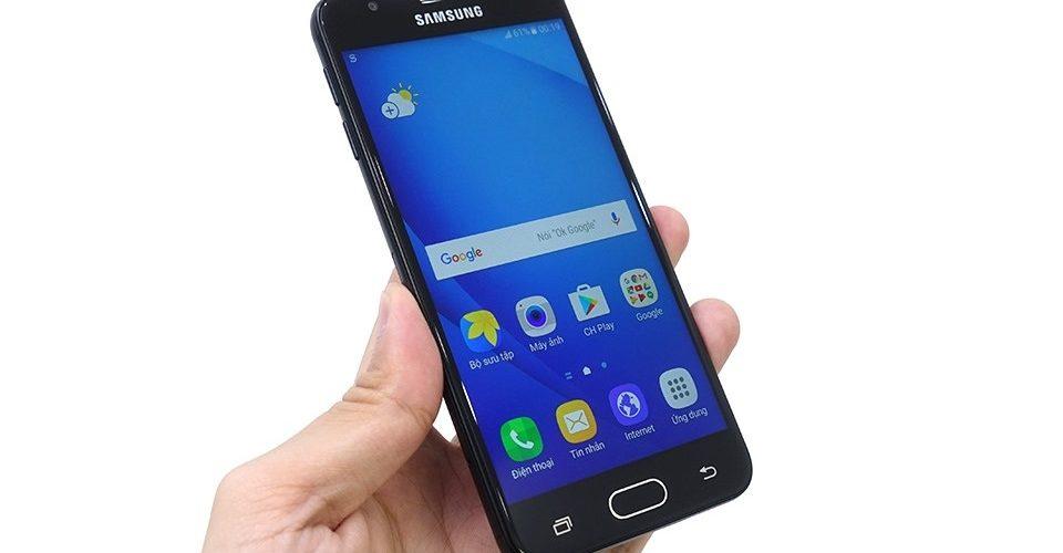 Phải làm gì khi Samsung J5 bị sọc màn hình