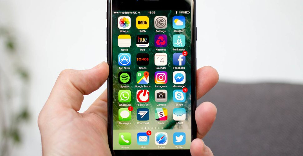 Thủ thuật khắc phục camera trước iphone 7 bị đen
